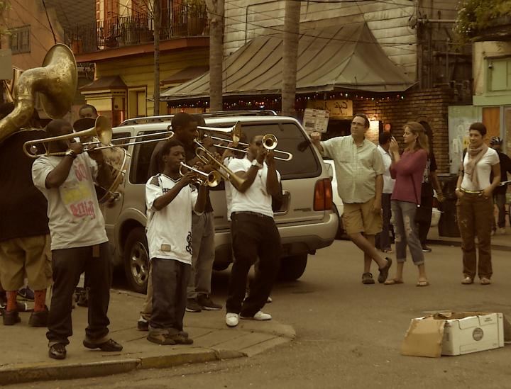 La Nouvelle-Orléans, Street Jazz & Dirty Rap
