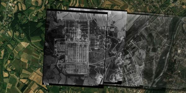 Passage de témoins photo aérienne